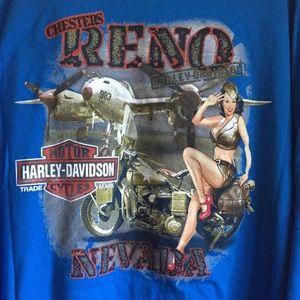 Reno Harley Davidson T-shirt 4XL